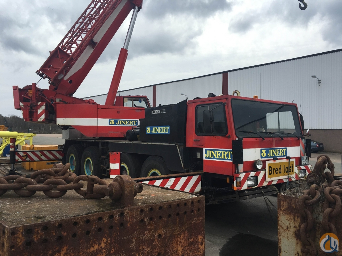 Liebherr LTM 1060 Crane for Sale in Blsta Uppsala County on CraneNetworkcom