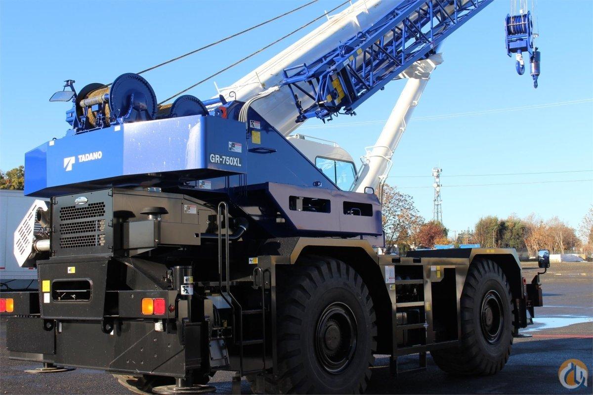 2016 TADANO GR750XL-2 Crane for Sale or Rent in Sacramento California on CraneNetworkcom