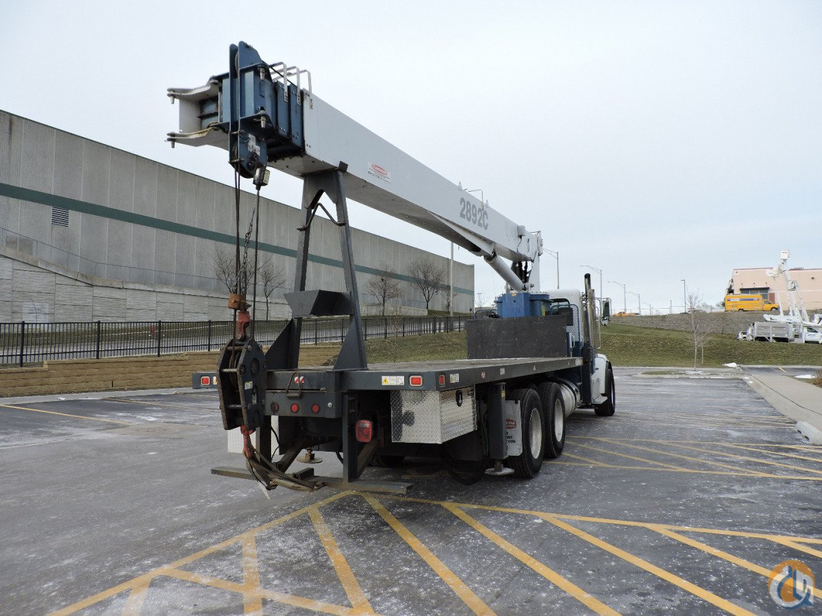 2892C with Jib  Out-and-Down Outriggers Mounted on a 2014 Peterbilt 365 Crane for Sale or Rent in Hodgkins Illinois on CraneNetwork.com