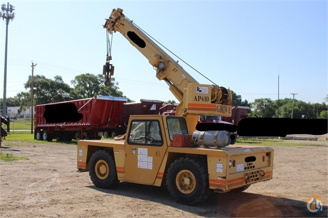 1996 Grove AP410 Crane for Sale in Norwalk Iowa on