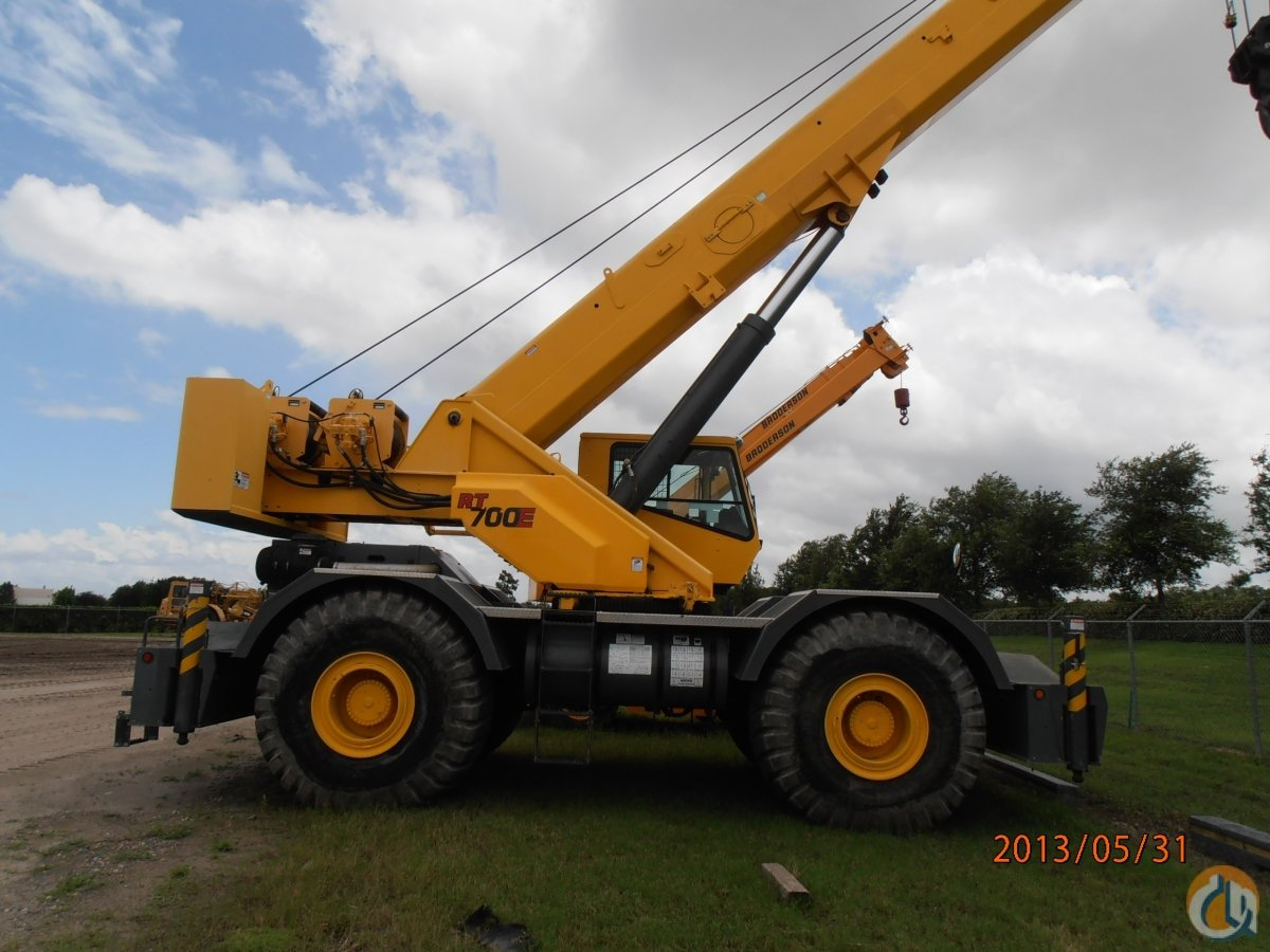 2010 GROVE RT700E T3 Crane for Sale in Pompano Beach Florida on CraneNetwork.com