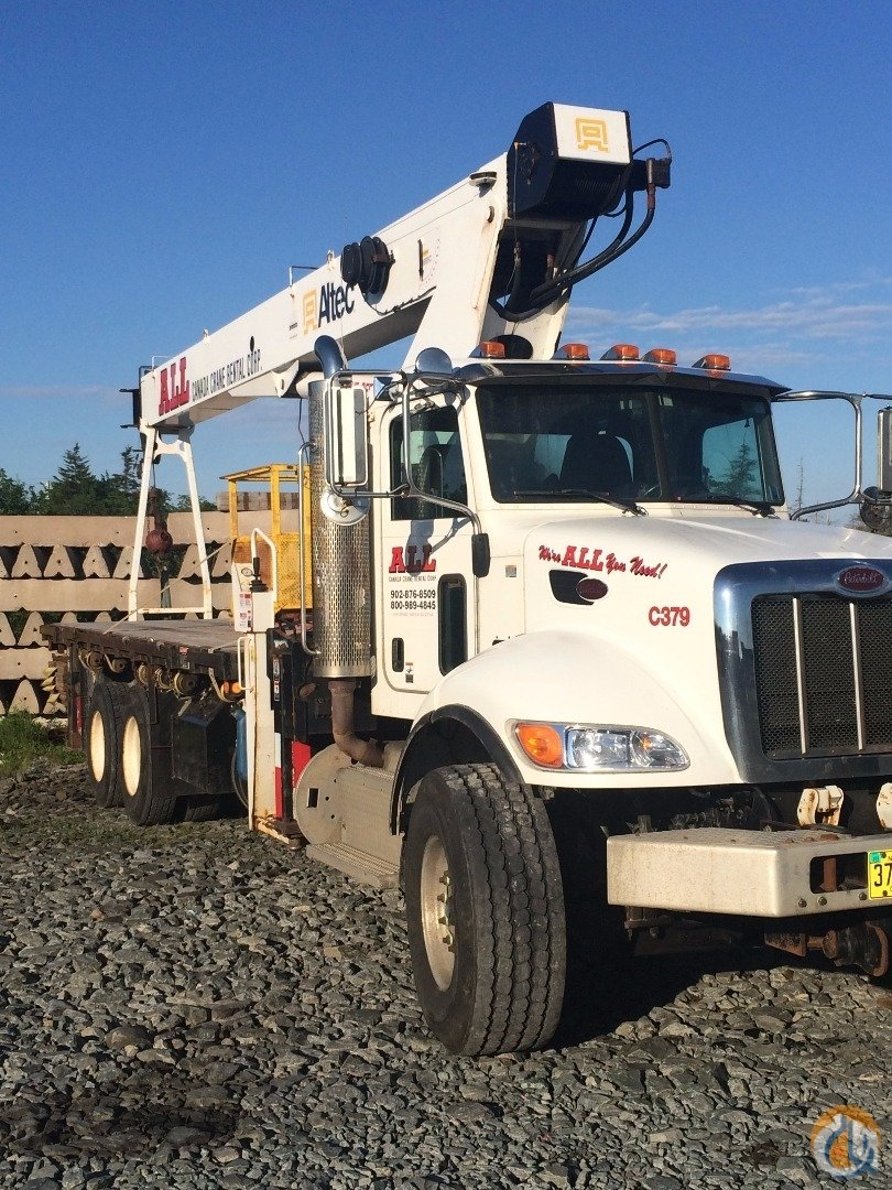 2013 Altec AC25-95B Crane for Sale in Hamilton Ontario on CraneNetwork.com