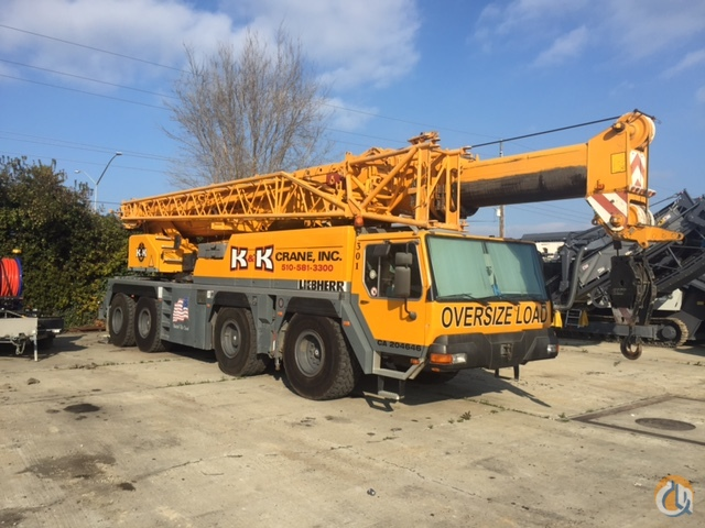 2002 LIEBHERR LTM 1080-1 Crane for Sale in San Francisco California on CraneNetworkcom