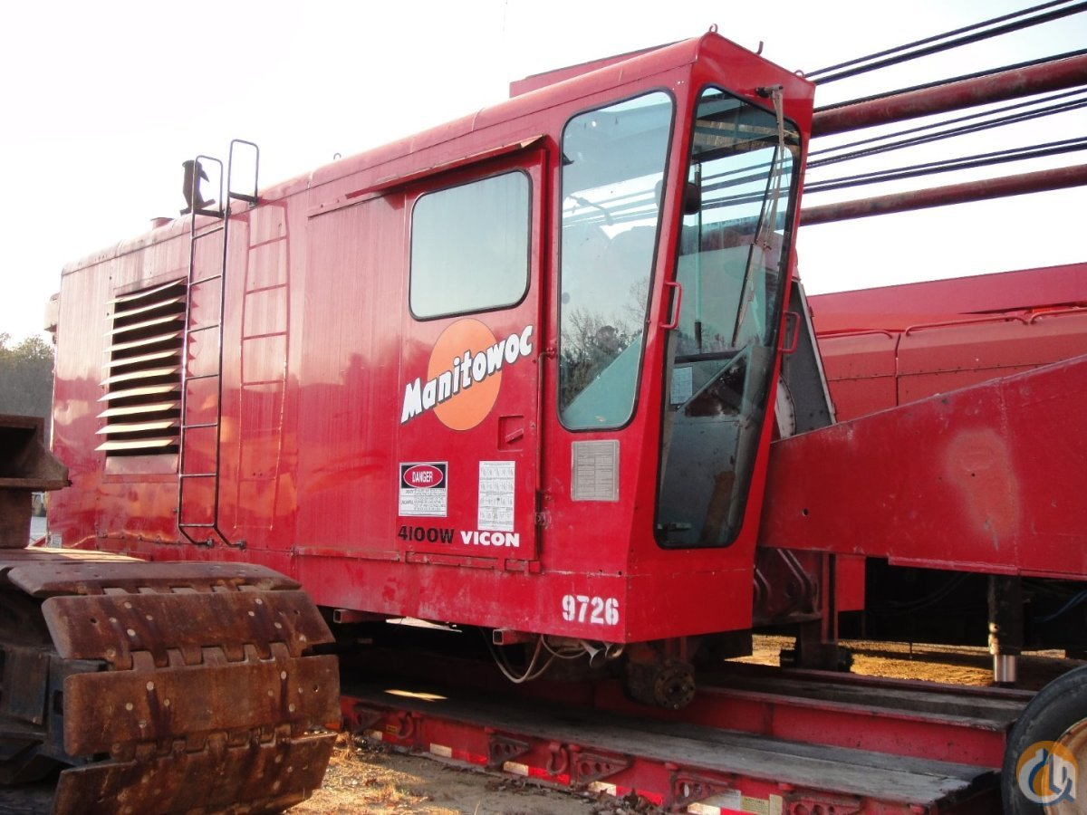 Manitowoc 4100-S2 For Sale Crane for Sale in Baton Rouge Louisiana on CraneNetworkcom