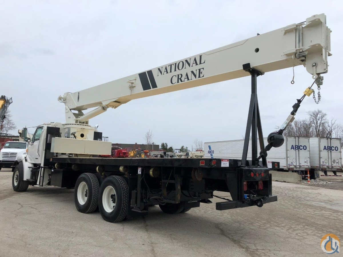Sold 2001 National 9103A 26 ton boom truck Crane for  in Solon Ohio on CraneNetwork.com