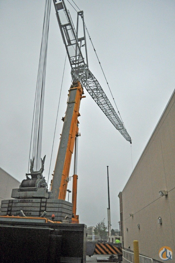 365 US Ton 197 Boom Swing-Away Jib 230 Luffing Jib Superlift Crane for Sale in Baltimore Maryland on CraneNetwork.com