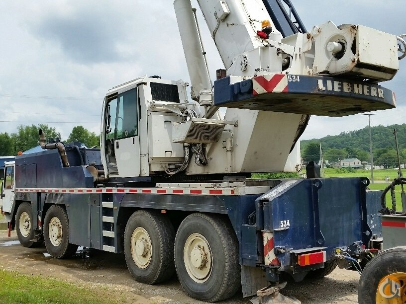 2002 Liebherr LTM1080-1L Crane for Sale in Fort Pierce Florida on CraneNetworkcom