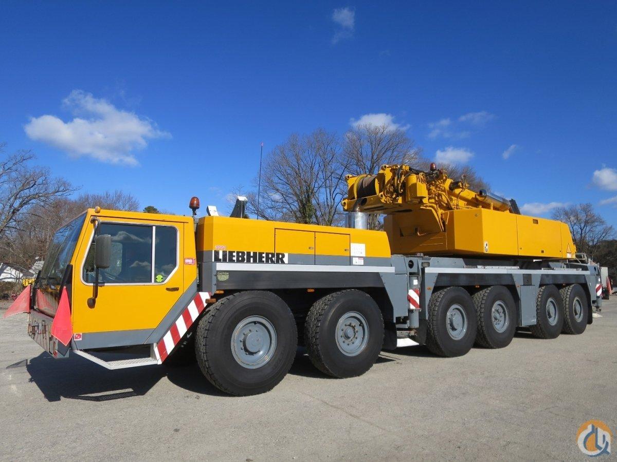 2002 Liebherr LTM1250-1 300 US TON (250 Metric Ton) All Terrain