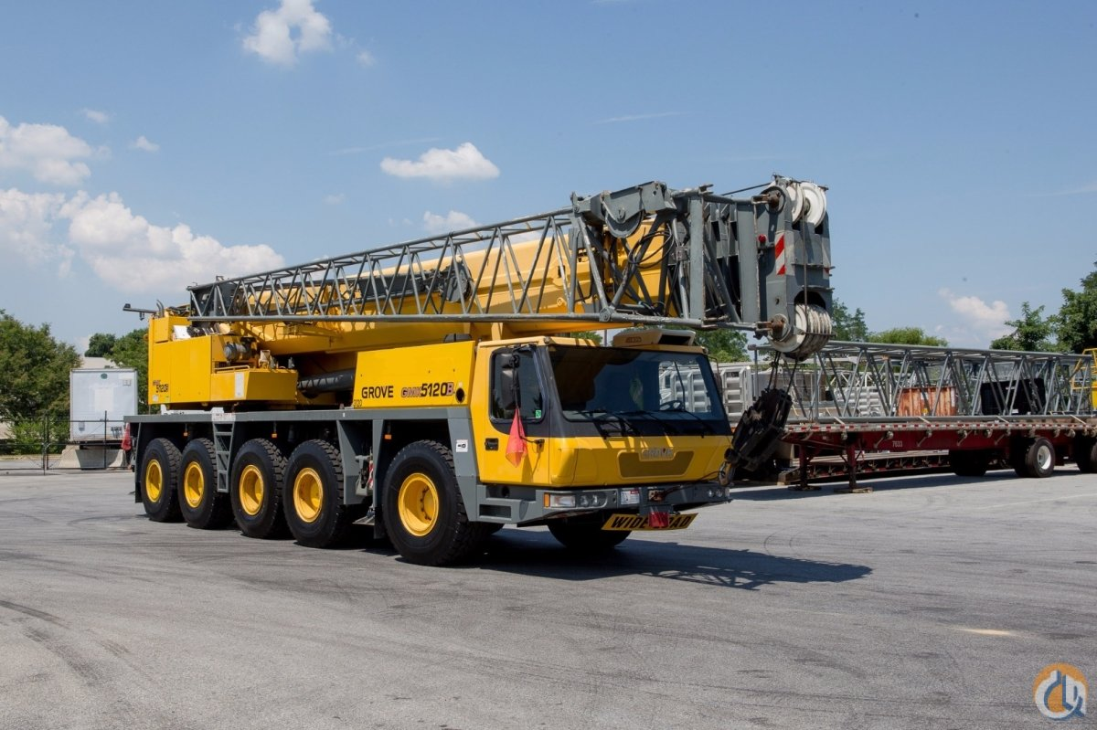 2004 Grove Gmk5120b Crane For Sale In Baltimore Maryland