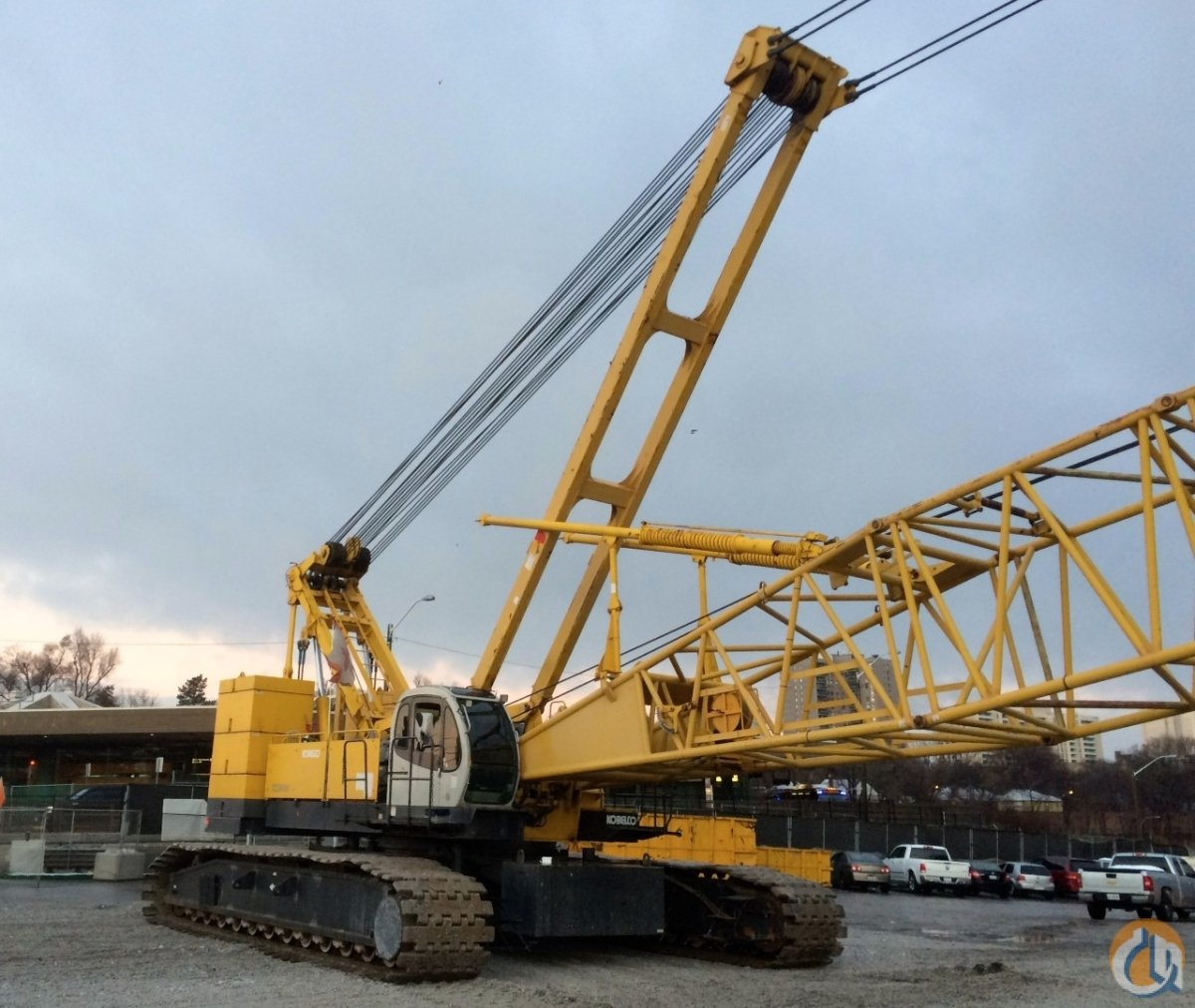 2004 KOBELCO CK-2500 250 TON CRAWLER CRANE Crane for Sale in New York New York on CraneNetworkcom