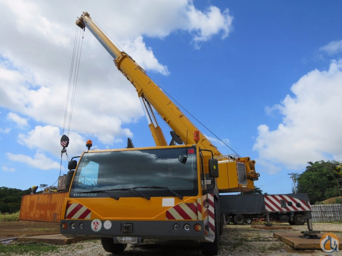EXCELLENT PRICE FOR A VERY CLEAN WELL MAINTAINED 500 US TON LIEBHERR ALL TERRAIN Crane for Sale on CraneNetwork.com