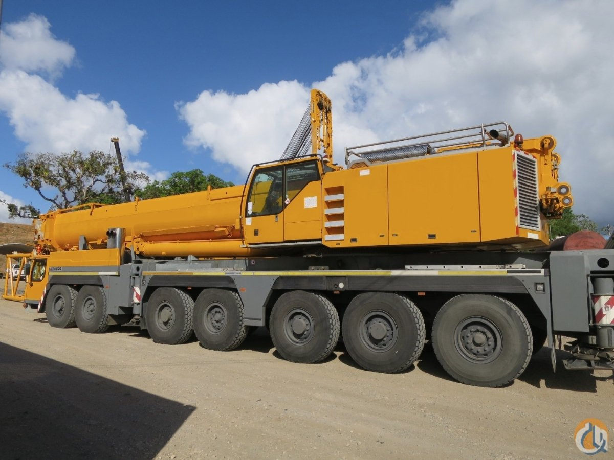 EXCELLENT PRICE FOR A VERY CLEAN WELL MAINTAINED 500 US TON LIEBHERR ALL TERRAIN Crane for Sale on CraneNetworkcom