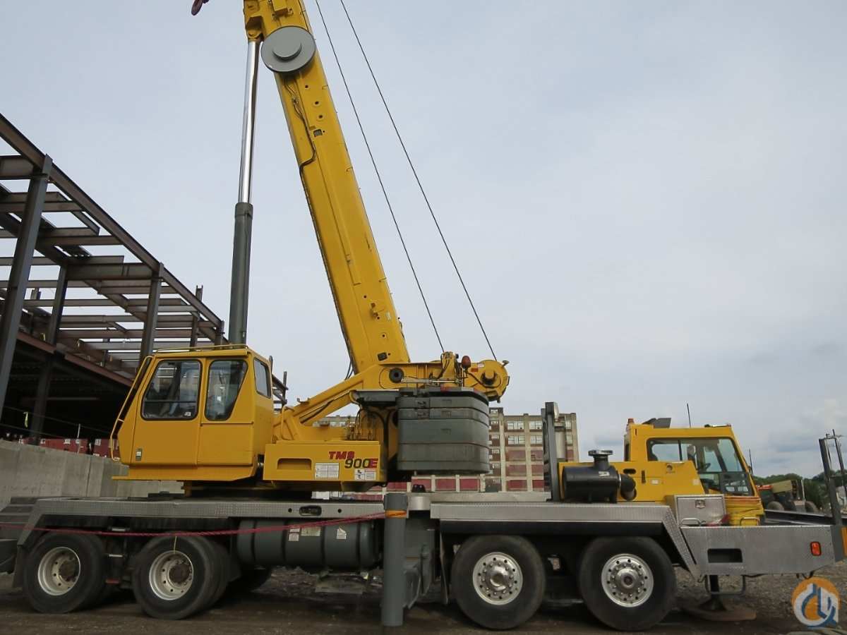 GroveTMS-900E HYDRAULIC JIB Re-Manufactured Engine by Cummins Crane for Sale on CraneNetworkcom