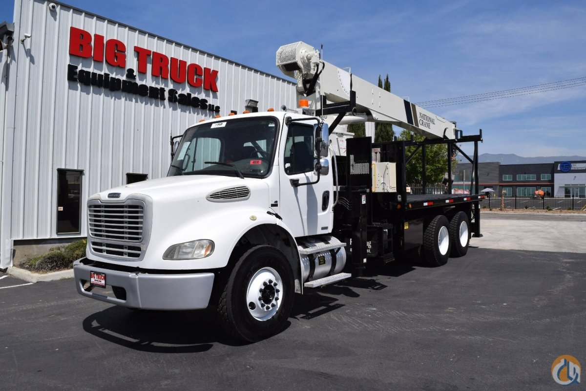 2005 Freightliner M2 National 600d 18 Ton Crane Truck For Sale Sterling Acterra Wiring Diagrams In Fontana California On