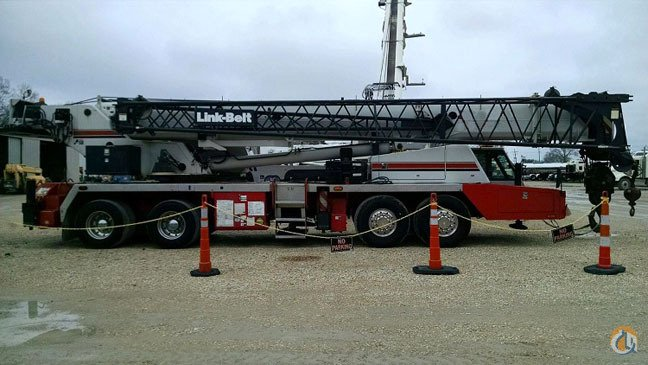 Sold 2005 Link-Belt HTC-8690 Crane for  in Cleveland Ohio on CraneNetwork.com