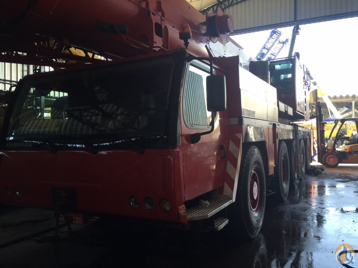 2005 LIEBHEER LTM 1220-51 EXCELLENT Crane for Sale in Houston Texas on CraneNetworkcom