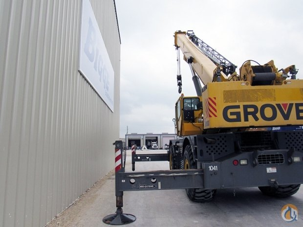 2005 GROVE RT880E Crane for Sale in Houston Texas on CraneNetworkcom