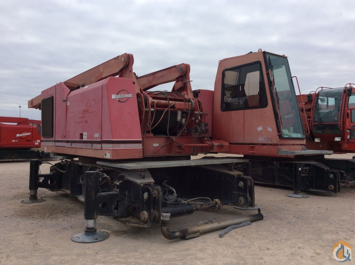 2006 MANITOWOC 999 S3 Crane for Sale or Rent in Cleveland Ohio on CraneNetwork.com