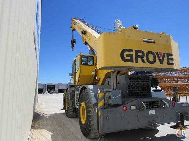 2006 RT760E Crane for Sale in Houston Texas on CraneNetworkcom