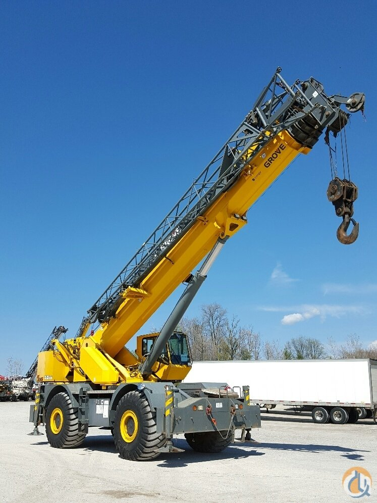 Sold 2007 Grove RT890E Crane for  in Cleveland Ohio on CraneNetwork.com