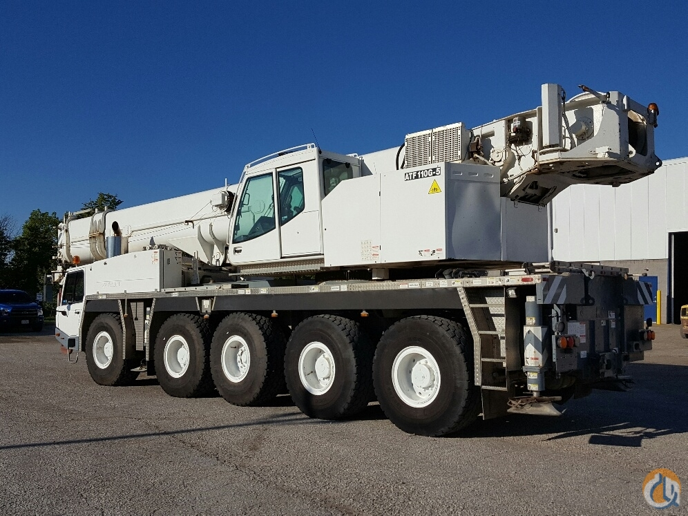 Sold 2007 Tadano ATF110G-5 Crane for  in Cleveland Ohio on CraneNetworkcom