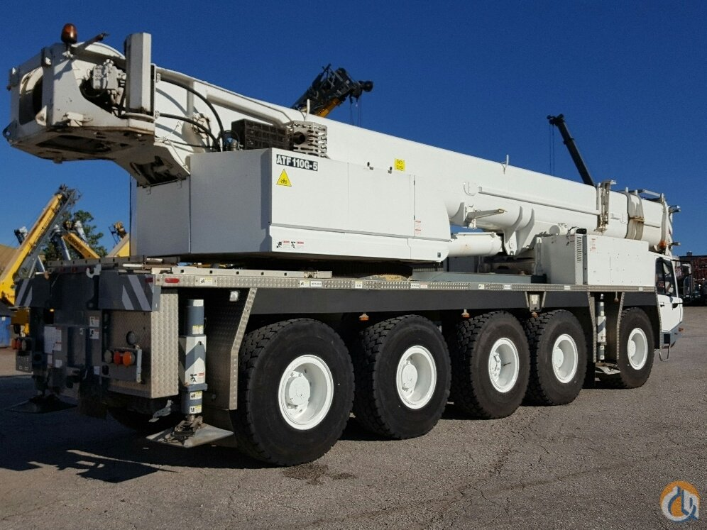 2007 Tadano ATF110G-5 Crane for Sale in Cleveland Ohio on CraneNetworkcom