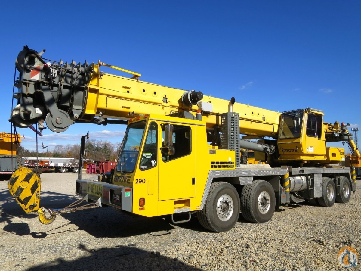 GROVE TMS-900E 142 FEET BOOM PLUS 56 JIB 2 WINCHES AC FLOAT KIT Crane
