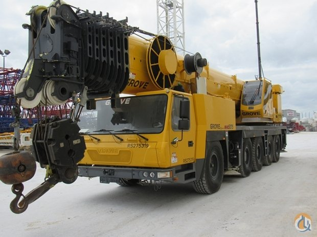2007 GMK5275 Crane for Sale in Houston Texas on CraneNetworkcom