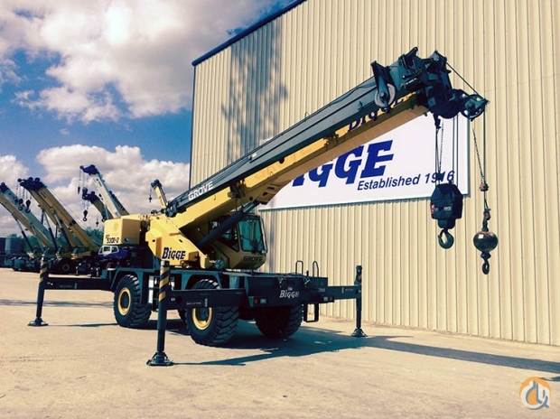 2007 Grove RT530E Crane for Sale in Houston Texas on CraneNetworkcom