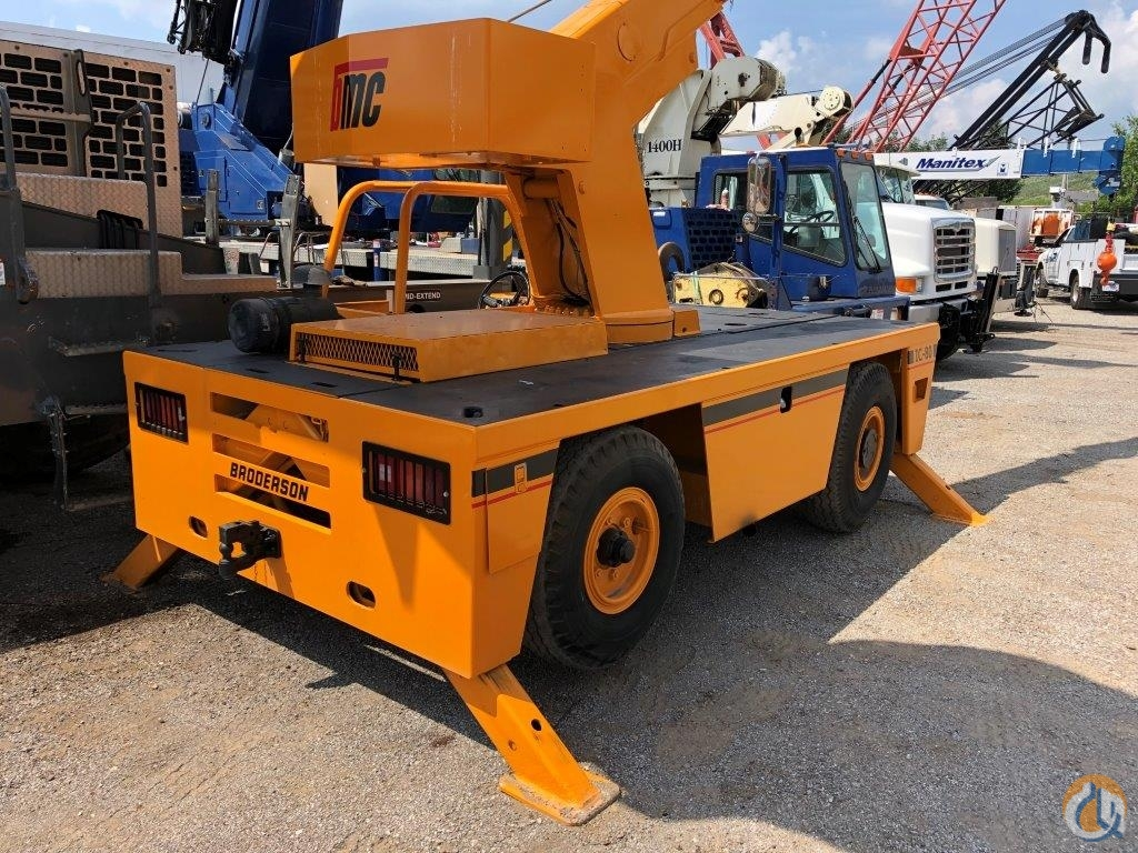 2008 Broderson IC80-2G 9 ton carry deck Crane for Sale in