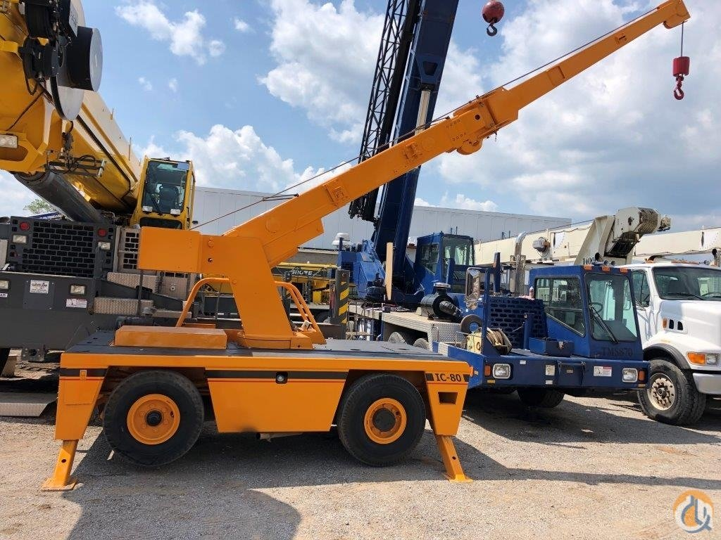 2008 Broderson IC80-2G 9 ton carry deck Crane for Sale in Solon Ohio on CraneNetwork.com