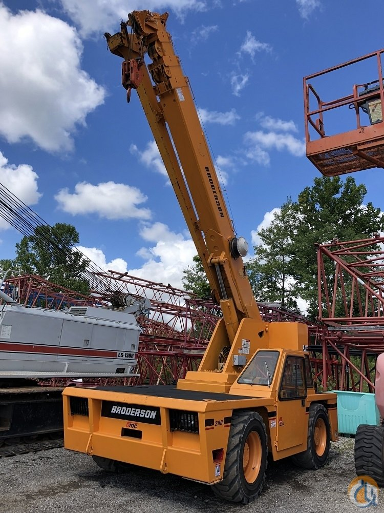 2008 Broderson IC200-3F 15 ton carry deck Crane for Sale in Solon Ohio on CraneNetwork.com