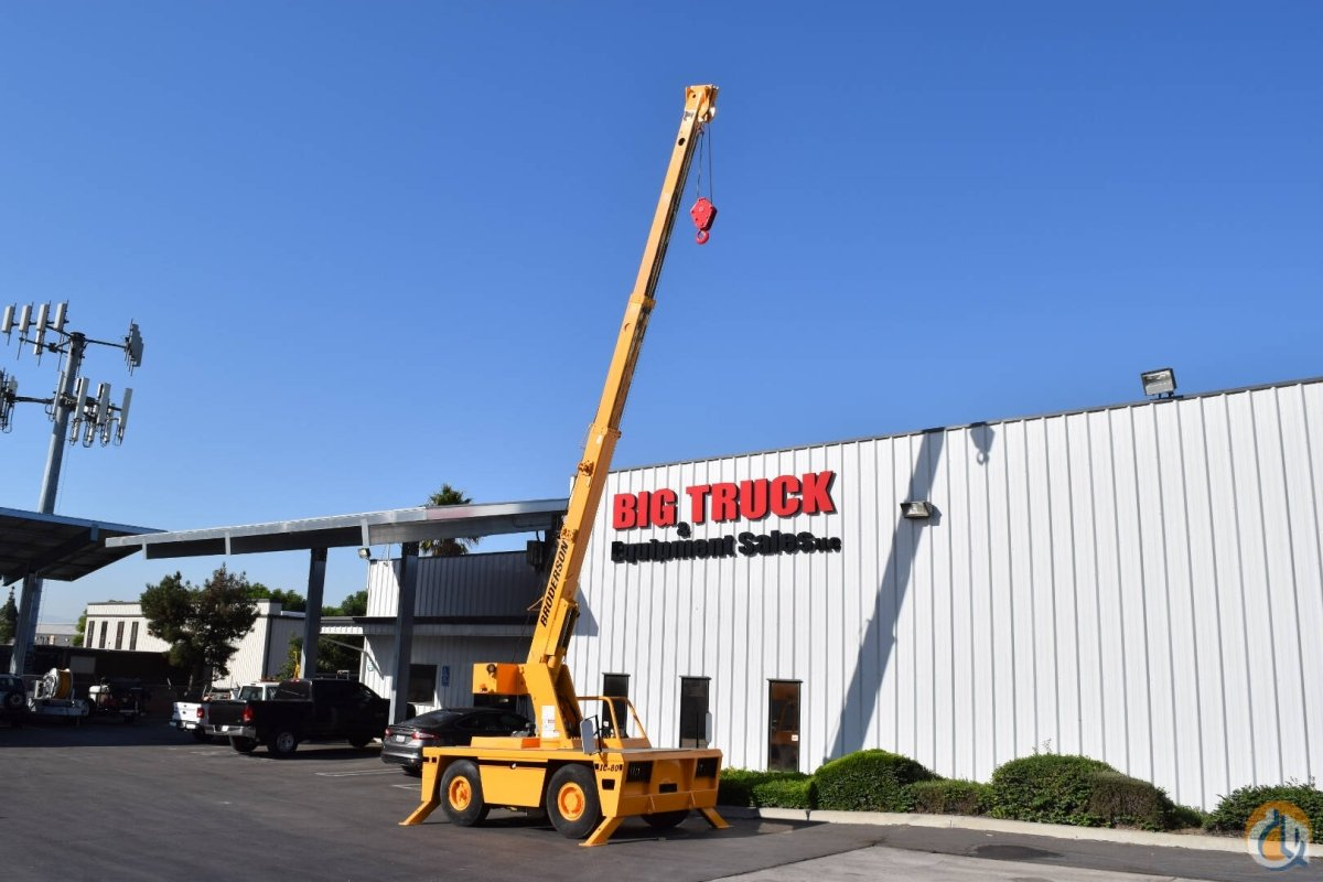 2008 Broderson IC80-3G 9 Ton Deck Crane Crane for Sale in Fontana California on CraneNetwork.com
