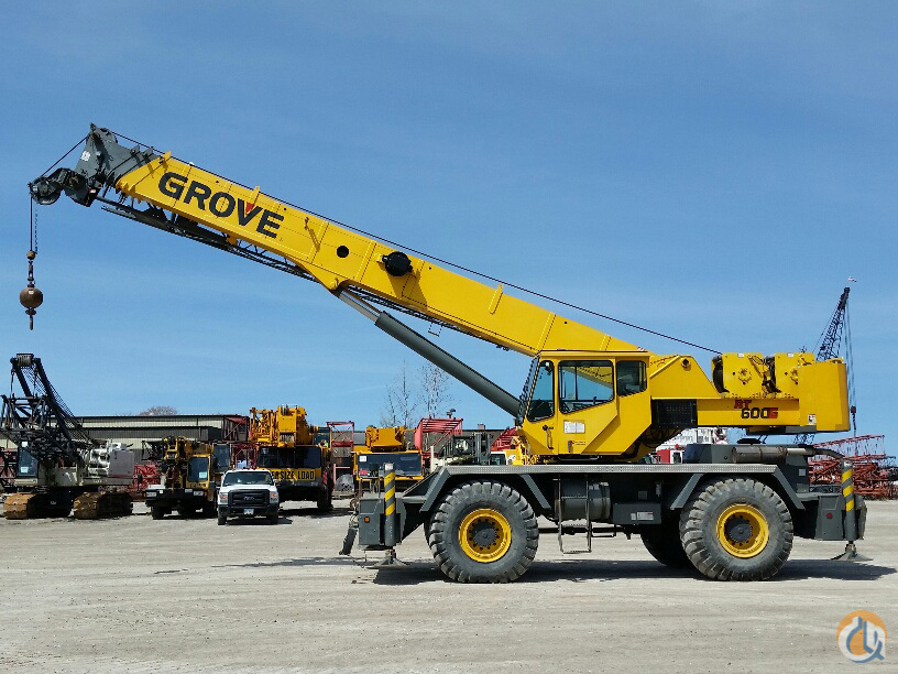 Sold 2008 Grove Rt650e Crane For In Solon Ohio On