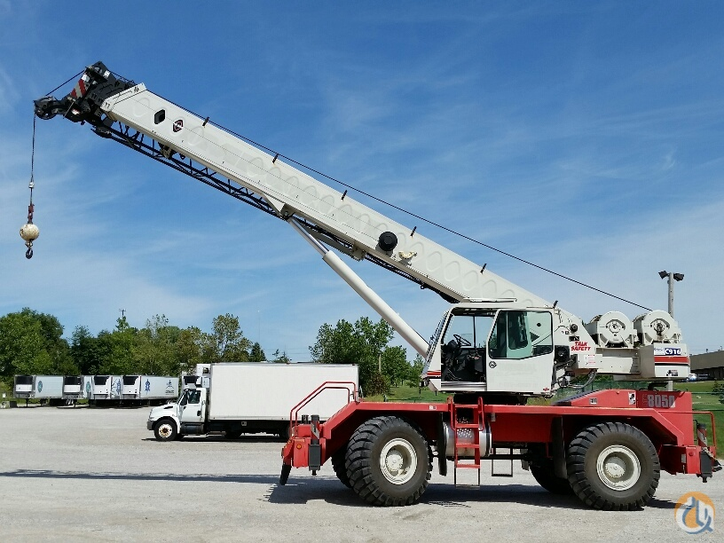Sold 2008 Linkbelt RTC8050 SII Crane for in Cleveland Ohio ...