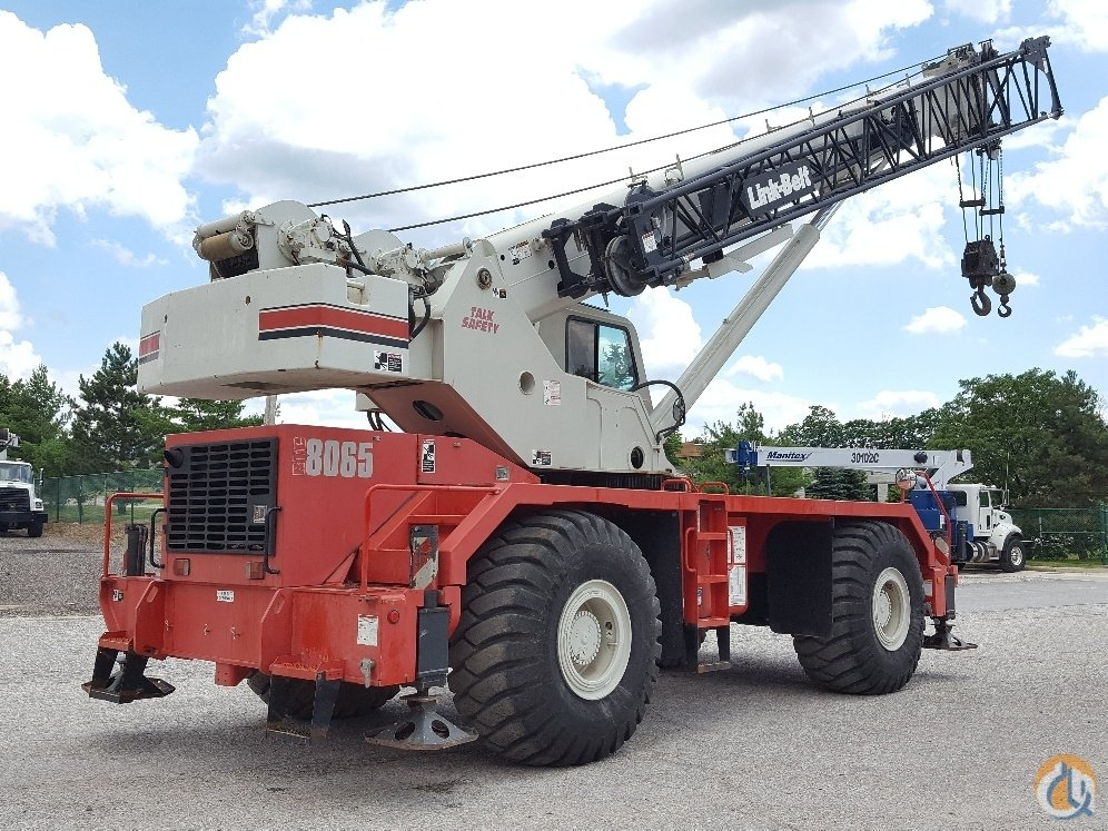 Link Belt RTC-8065 SII Crane for Sale in Solon Ohio on CraneNetworkcom