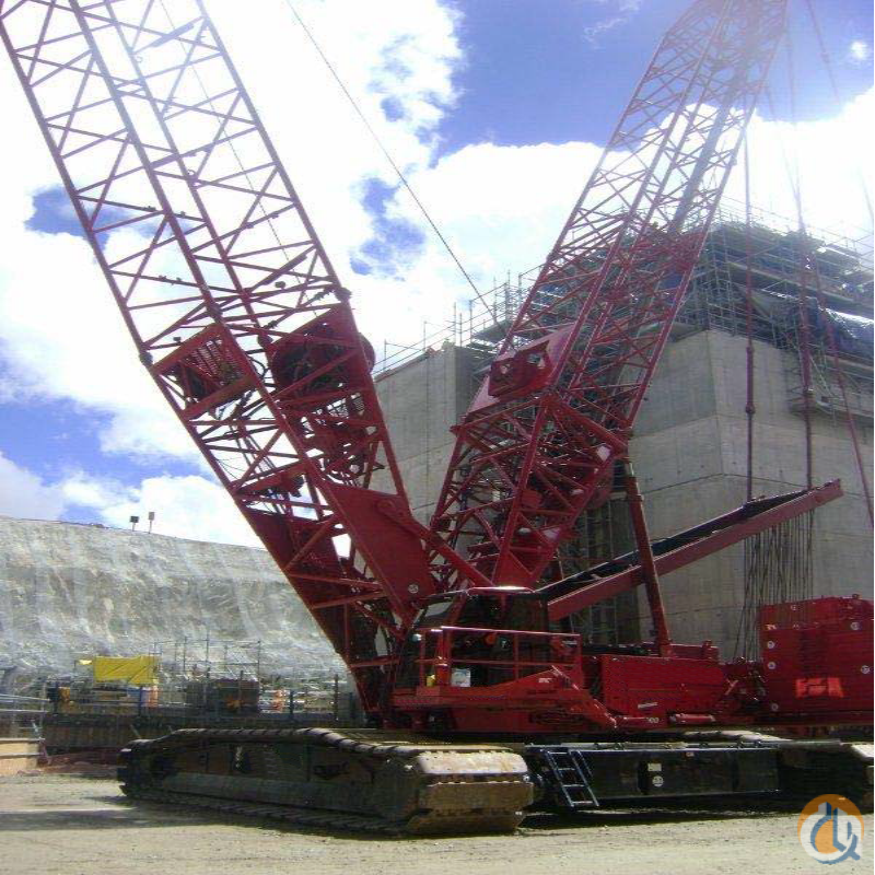 2008 Manitowoc 16000 Series 3 with Wheeled Max-er Crane for Sale on CraneNetwork.com
