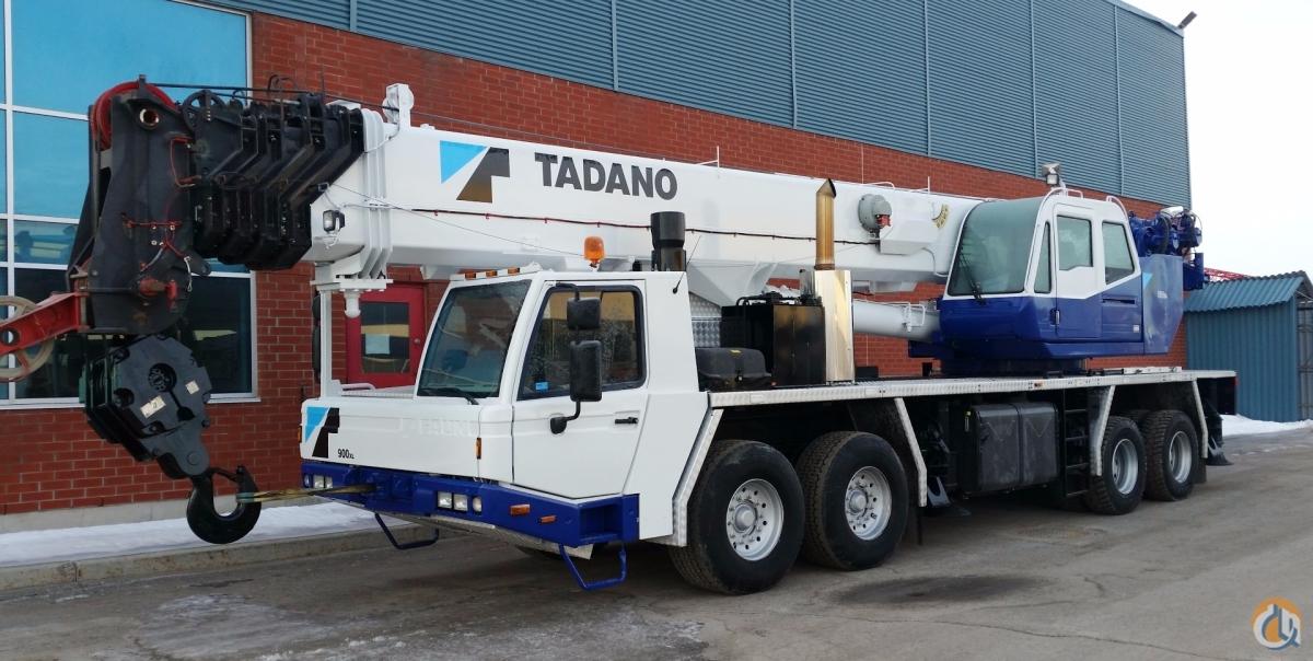 Telescopic Crane Tadano : Sold tadano gt xl crane for in laval qu?bec on