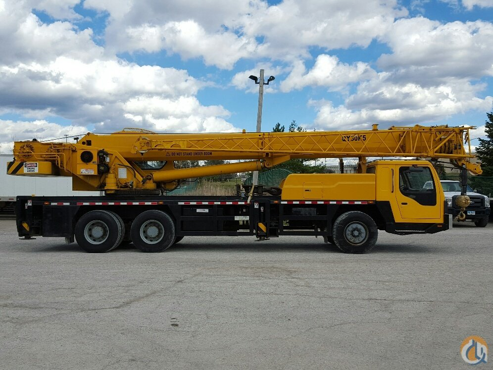 Sold 2008 XCMG QY30K5 Crane for on CraneNetwork com