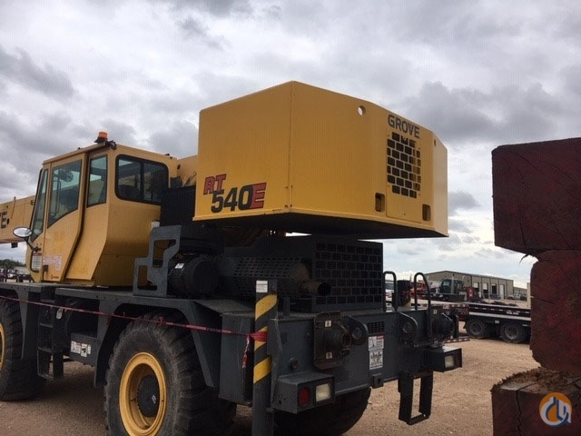 2008 GROVE RT540E Crane for Sale or Rent in Midland Texas on CraneNetwork.com