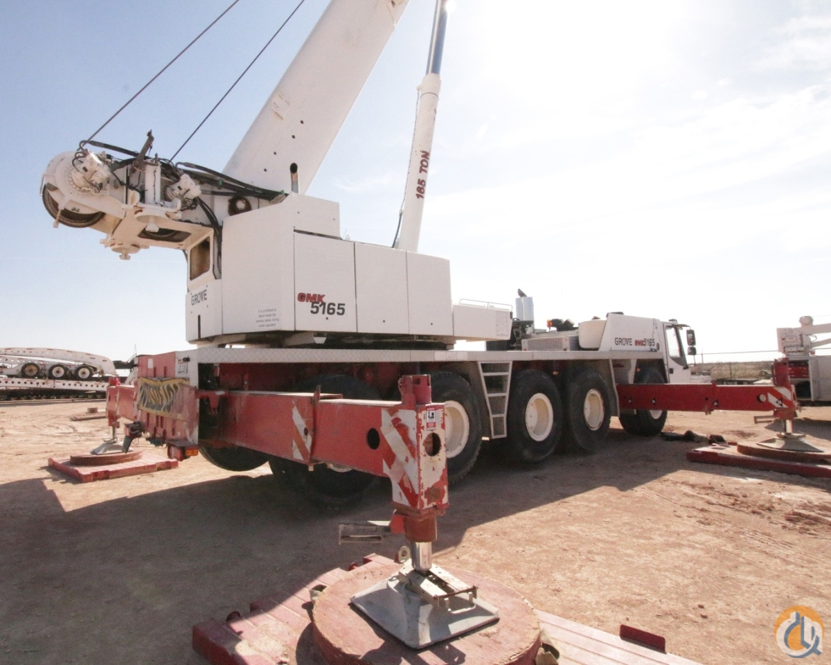 U.S. SPEC GROVE GMK5165 165 US TON ALL TERRAIN CRANE Crane for Sale on CraneNetwork.com
