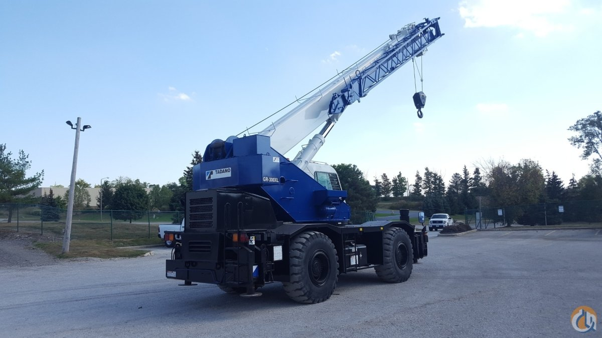 Tadano GR300XL 30 ton rough terrain Crane for Sale in Solon Ohio on CraneNetwork.com