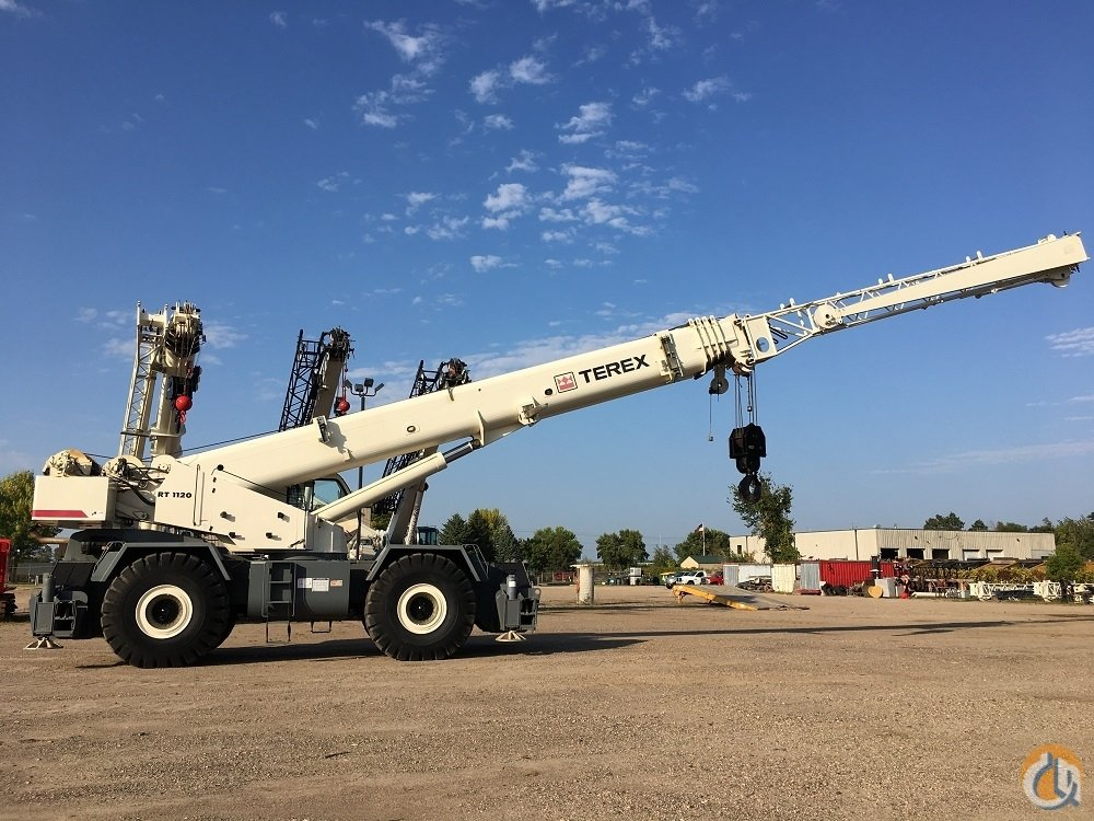 2009 Terex RT1120 Crane for Sale in Solon Ohio on CraneNetwork.com