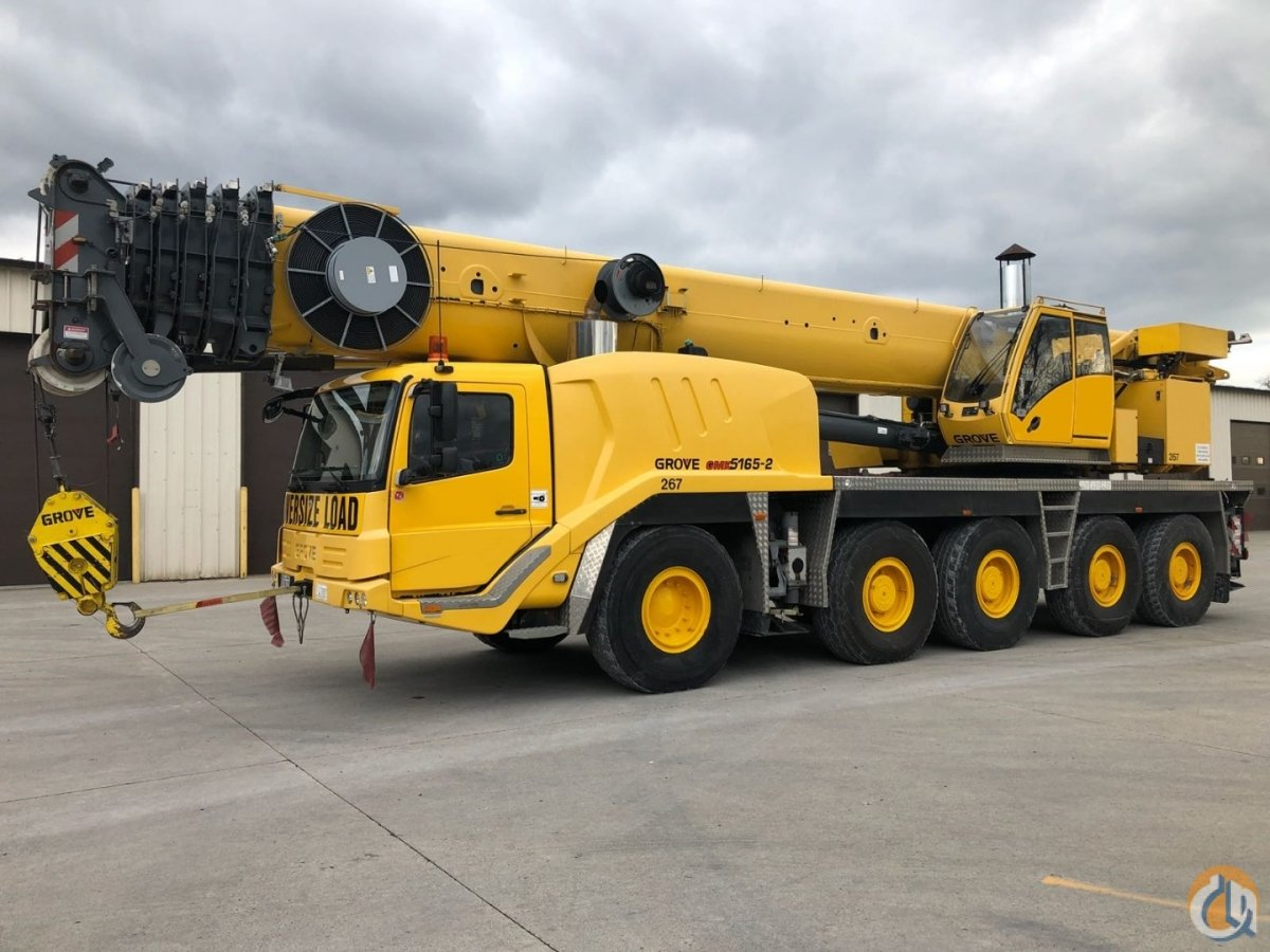 2009 GROVE GMK 5165-2 Crane for Sale on CraneNetwork.com
