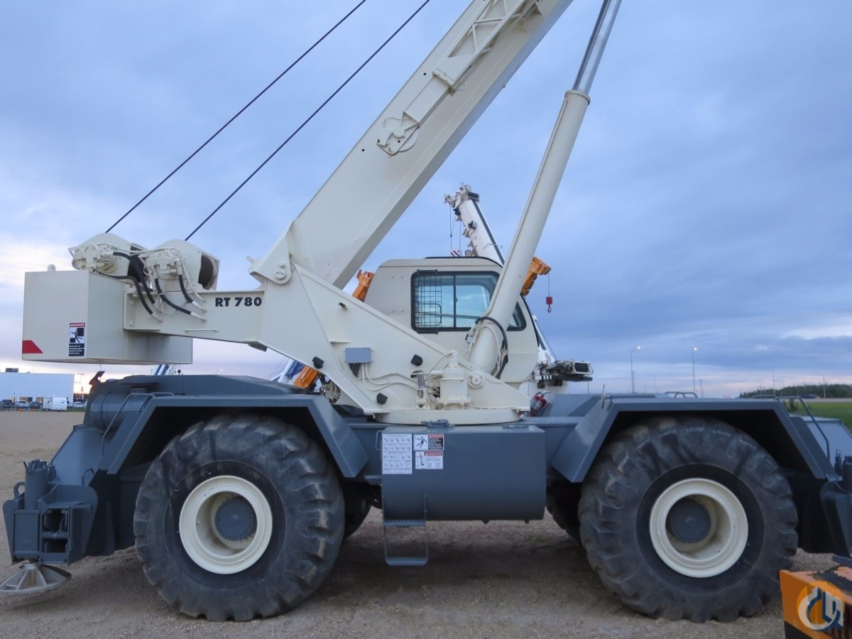 2009 TEREX RT-78080 TON ROUGH TERRAIN CRANE Crane for Sale on CraneNetwork.com