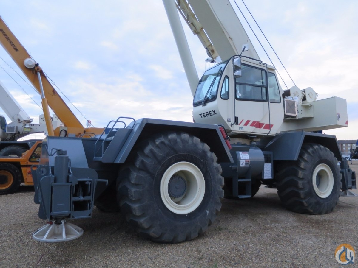 2009 Terex Rt 780 80 Ton Rough Terrain Crane Crane For