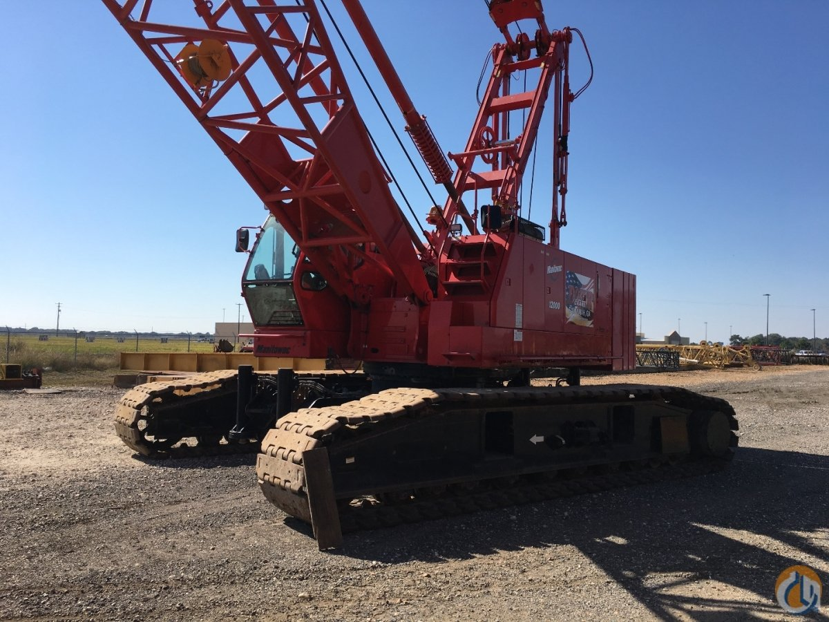 Manitowoc 12000 Crawler Lattice Boom Cranes Crane for Sale 2010 MANITOWOC 12000 in  Louisiana  United States 218275 CraneNetwork