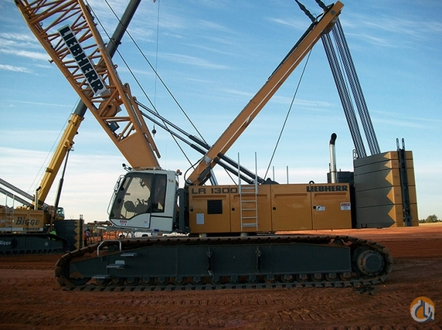 Liebherr LR1300 Crane for Sale in Houston Texas on CraneNetworkcom