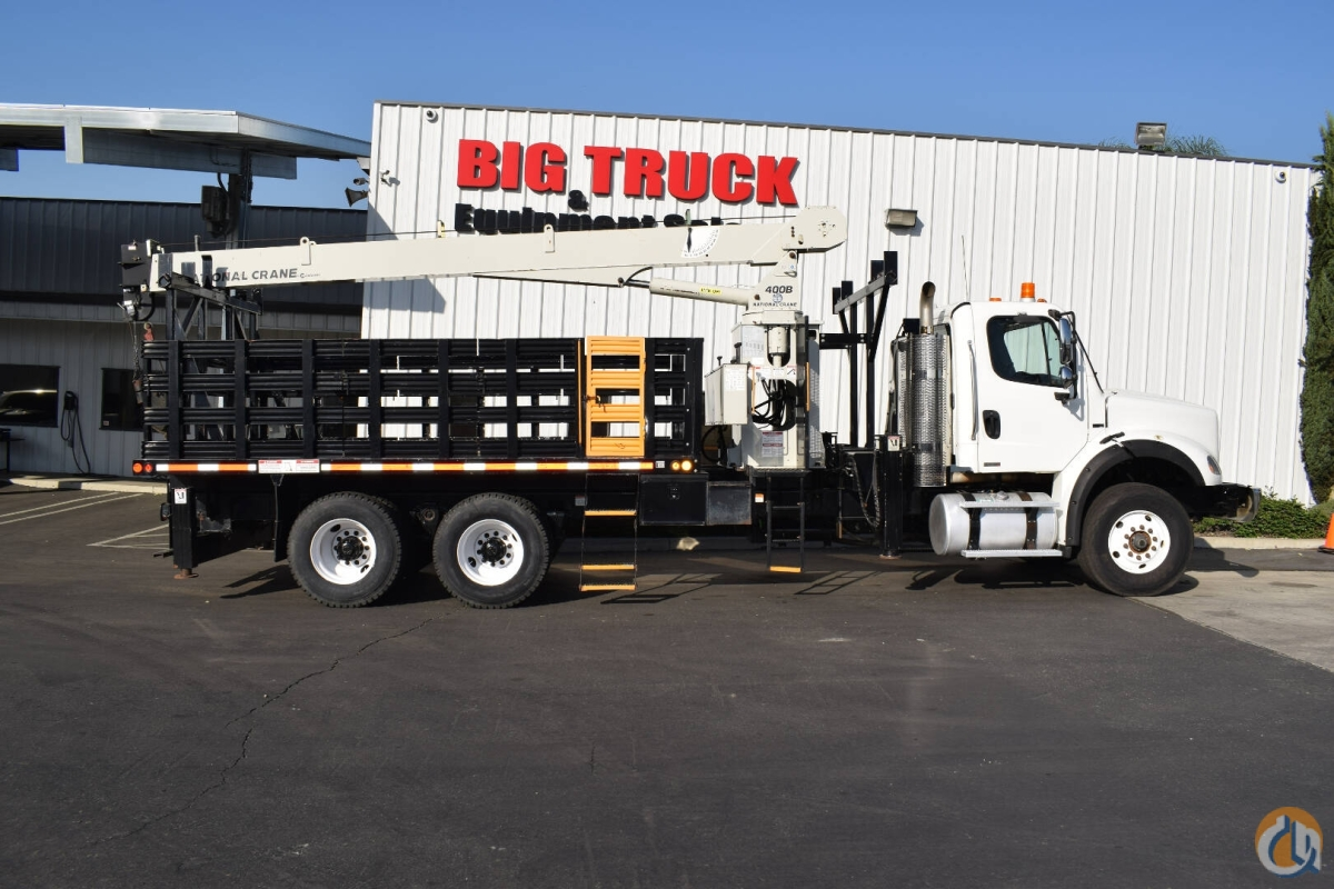2011 Freightliner M2 National 400B 10 Ton Crane Truck Crane for Sale in Fontana California on CraneNetwork.com
