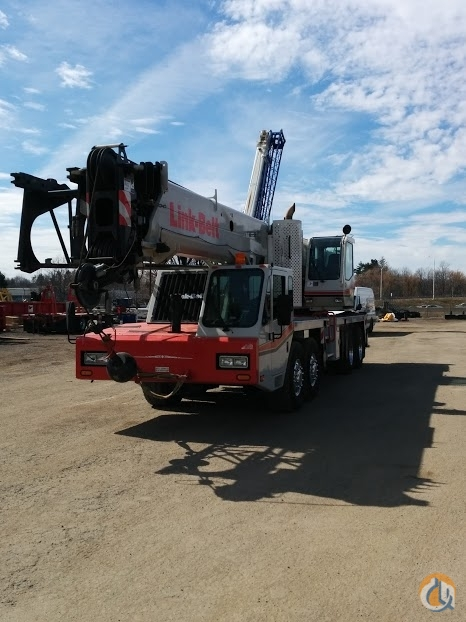 Sold 2011 Linkbelt HTC86100 100 ton truck crane Crane for  in Solon Ohio on CraneNetwork.com